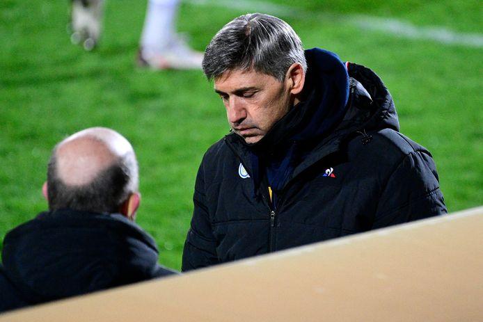 """Felice Mazzu: """"De eerste helft verliep stroef en we hadden op achterstand kunnen komen."""""""
