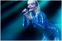 Rita Ora op het podium van Trix, Antwerpen.