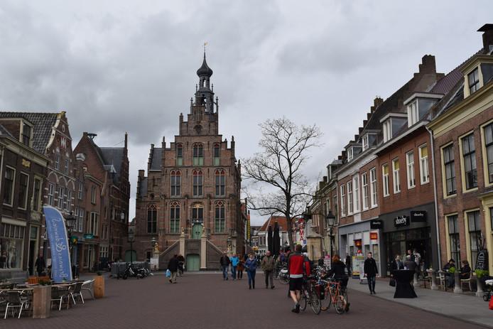 De Markt in Culemborg ligt er te vaak verlaten bij.