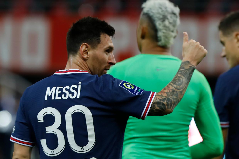 Vader Messi: 'Je hoeft Leo maar één keer te waarschuwen voor mensen die slecht in de zin hebben.'  Beeld NurPhoto via Getty Images