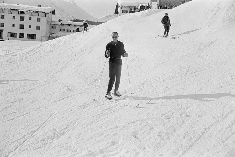 Prins Bernhard, begin jaren zestig.  Beeld ANP
