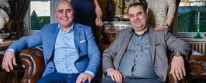 Sasan en Salar Azimi ten tijde van 'The Sky Is The Limit' in 2017.
