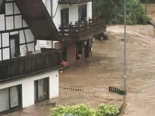 Kolkende rivier verwoest levenswerk van Nederlands B&B-stel in de Duitse Eifel