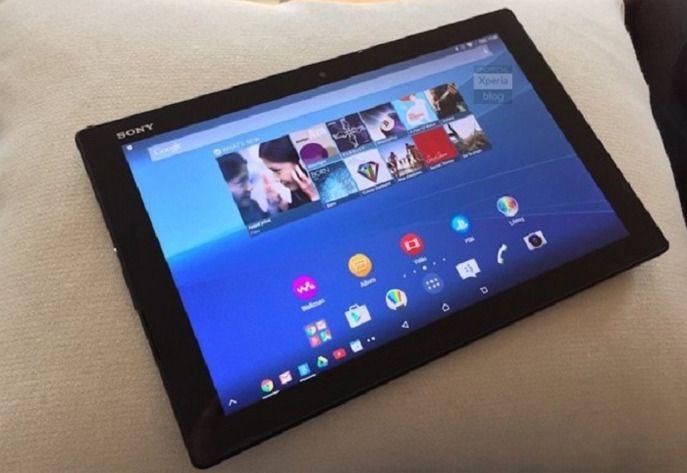 Een gelekte foto van de nieuwe Z4-tablet