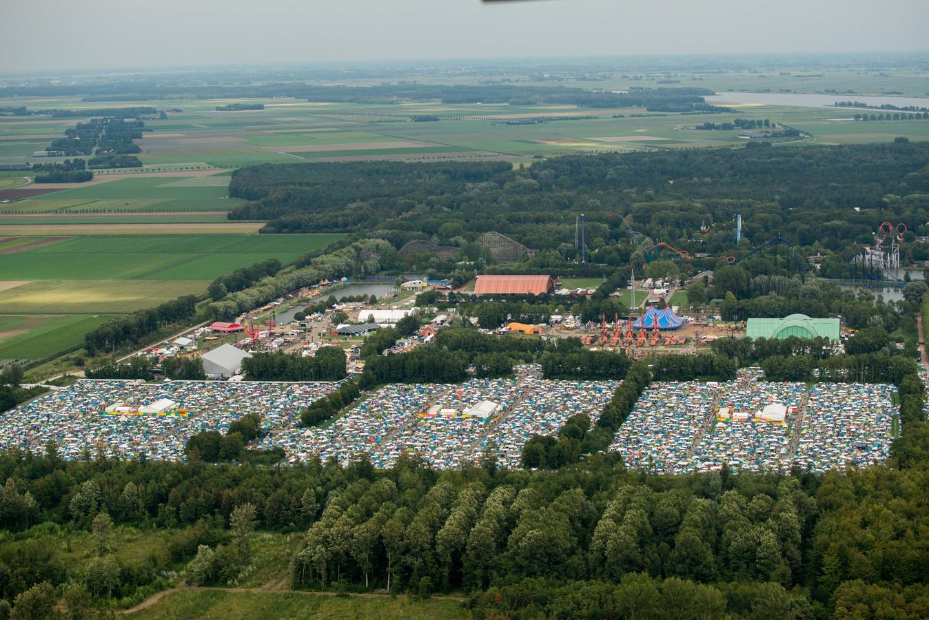 Lowlands wordt elk jaar gehouden in augustus.