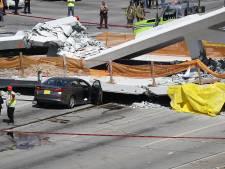Voetgangersbrug van universiteit Miami stort in: zeker vier doden