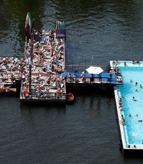 Berlijn en Parijs hebben het en nu Utrecht nog... Een drijvend zwembad in de stad