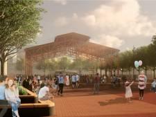 Bomenrand rond nieuw Marktplein in Apeldoorn, maar geen fietsenkelder of zonnepanelen