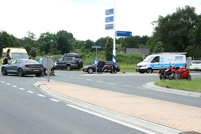 Het ongeluk in Hellendoorn.