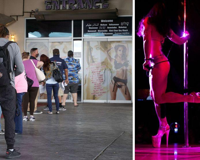 Un club de strip-tease de Las Vegas offre un lap dance aux personnes qui viennent se faire vacciner.