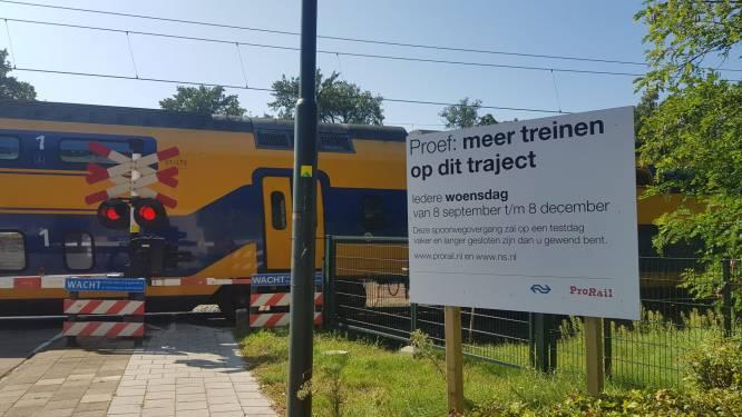 Spoor in Wolfheze wordt nóg groter obstakel: bomen helft van de tijd gesloten door proef met meer treinen