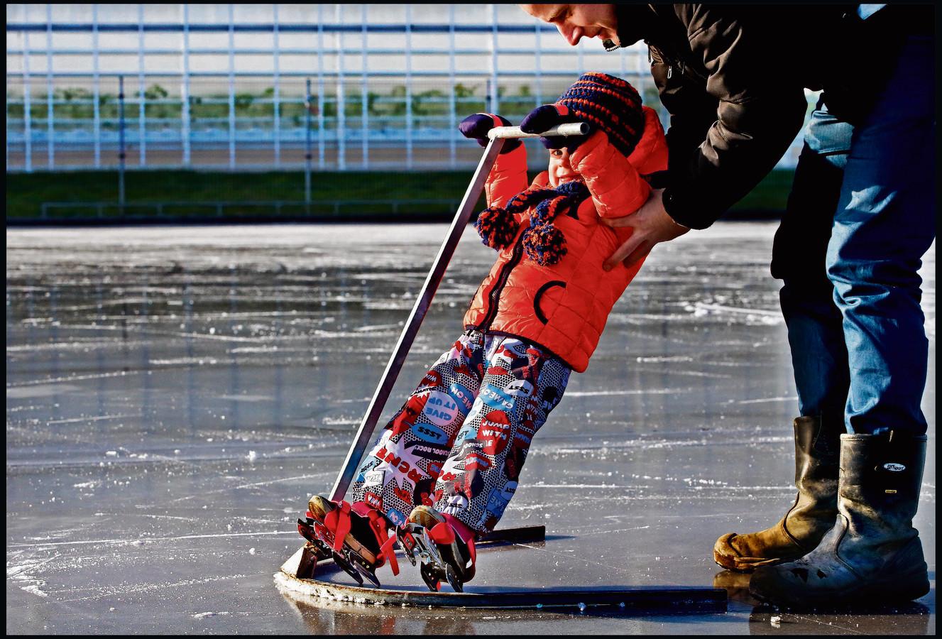 Als het een beetje vriest hebben we meteen schaatskoorts.