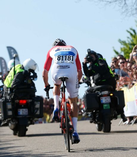Mathieu van der Poel fenomenaal naar zege in Amstel Gold Race