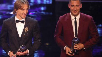 Modric is FIFA-voetballer van het jaar, Hazard krijgt plekje in wereldelftal