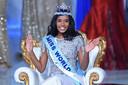 Miss Jamaica Toni-Ann Singh kan het nauwelijks geloven: ze is uitverkozen tot Miss World 2019.