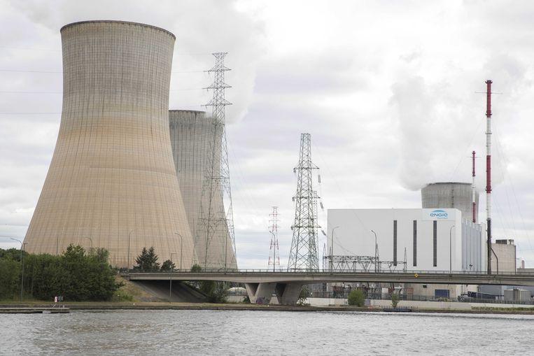 De kerncentrale van Tihange (Hoei). Beeld ANP