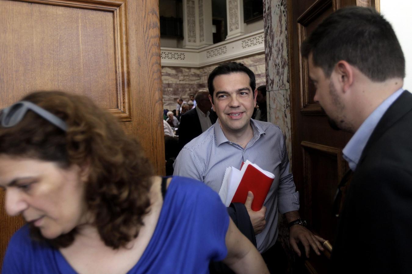 Premier Alex Tsipras.