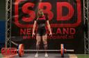 Isabelle Feteris (26) trainde zichzelf naar de top van het powerliften.