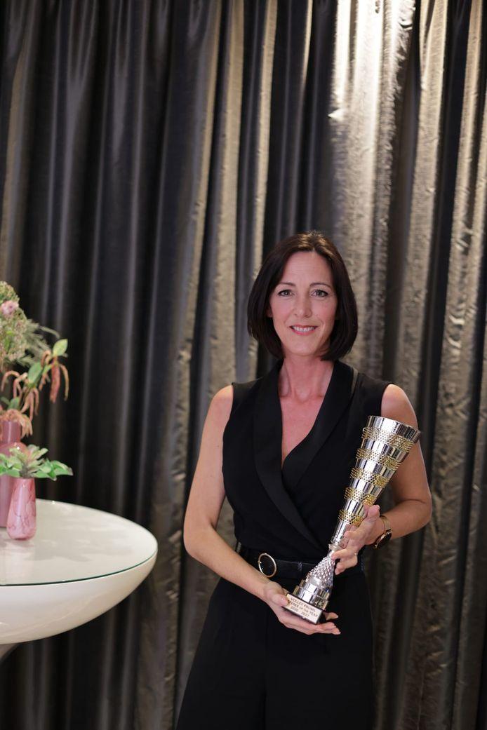 Scheidsrechter van het jaar: Marie-Catherine Boulanger.