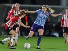 Topper PSV-Ajax laat zien dat eredivisie voor vrouwen  in de lift zit: bekende namen en aantrekkelijk voetbal