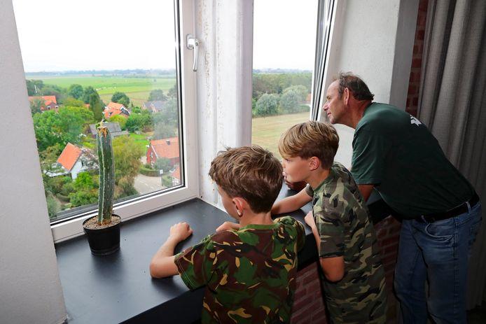 Open Monumentendag in de watertoren van Uppel.
