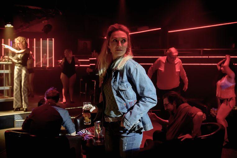 Carice van Houten speelt in Red Light de volkse Sylvia, die in Antwerpen in de prostitutie zit. Beeld @ Maarten De Bouw