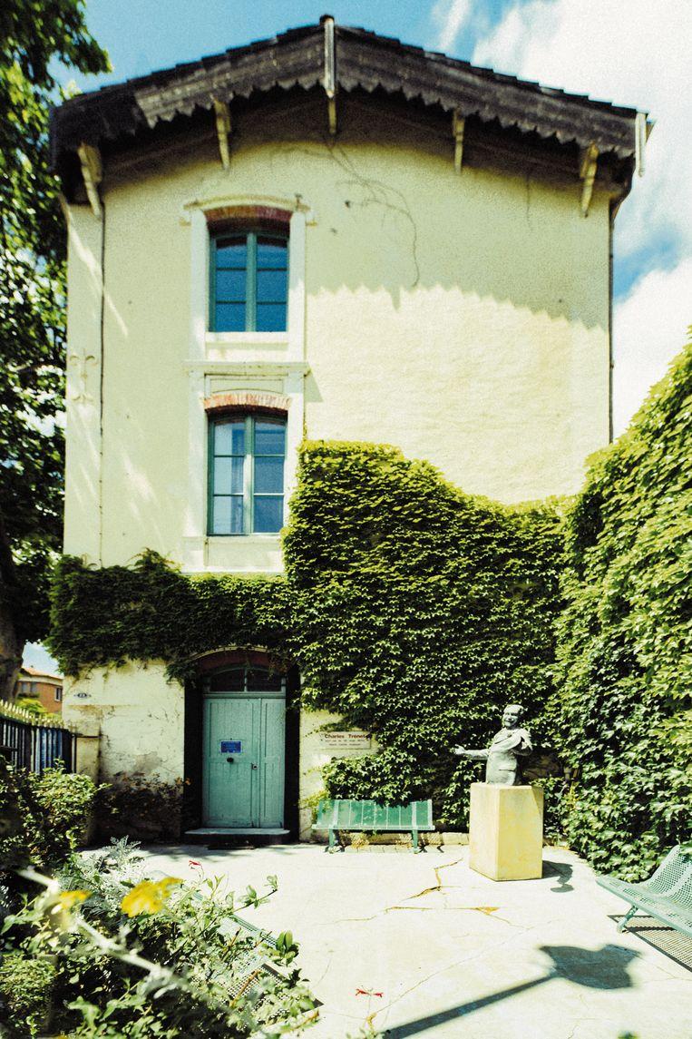 Het huis van Charles Trenet in Narbonne. Beeld Arnaud Moro