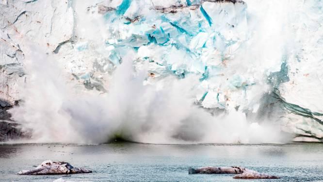 Groot stuk arctisch ijs breekt af door ongewoon warme zomer en klimaatopwarming