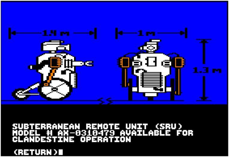 Activision's 'Hacker' simuleerde een echte computerinbraak. Beeld rv