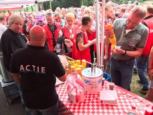 Stakingsbijeenkomst in het Stadswandelpark in Eindhoven in juni 2018.
