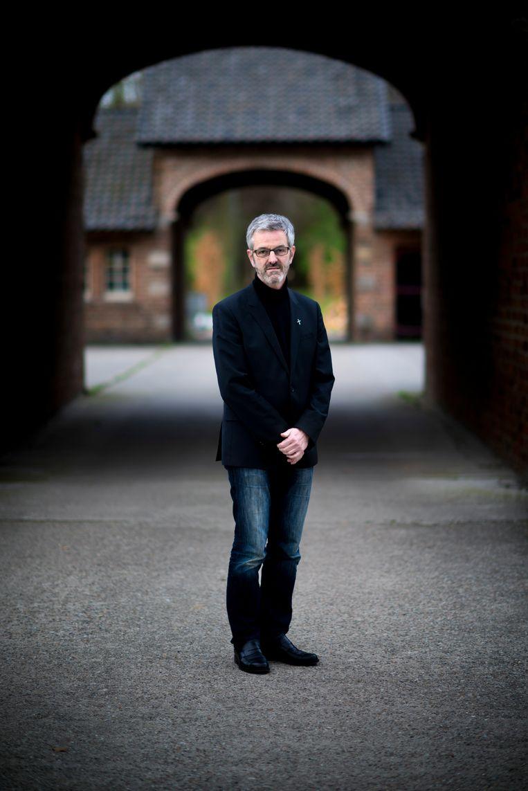Thomas Frings in de Sint Willibroordsabdij in Doetinchem.<br /> Beeld Bram Petraeus