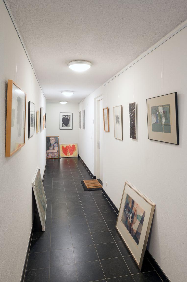 De kunstcollectie van Constant Meijer (74). Beeld Maarten Boswijk