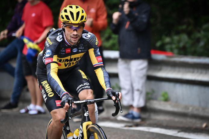 Trois semaines après son abandon sur le Tour de France, Primoz Roglic sera l'un des hommes à suivre sur les routes japonaises.