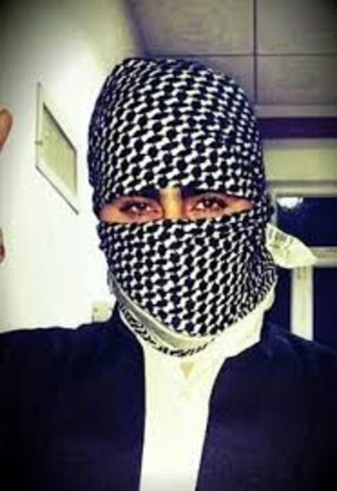 Eén van de avatars die Mohammed G. gebruikte op sociale media.