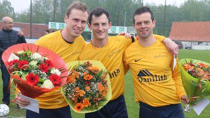 VC Nokere-Kruishoutem neemt afscheid van clubspelers Philippe, Sebastien en Vincent