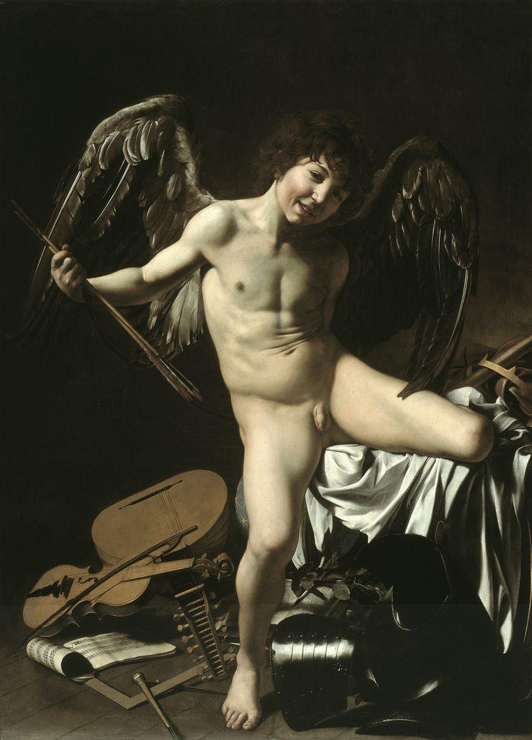 Het werk van Caravaggio leent zich uitstekend tot verstripping, en Milo Manara laat zich dan ook goed gaan. Beeld Staatliche Museen zu Berlin