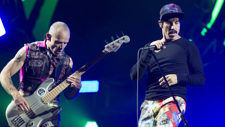 De Red Hot Chili Peppers waren dit jaar headliner op Pinkpop Beeld anp