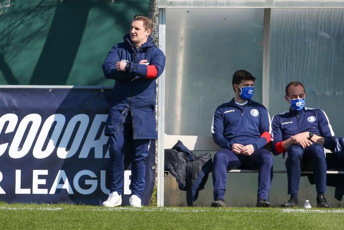Dave Mattheus trekt met AA Gent Ladies naar Anderlecht en zal zijn gebruikelijke aanvalslinie niet kunnen opstellen.