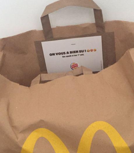 """""""On vous a bien eu"""": pour son poisson d'avril, Burger King s'est appuyé sur l'aide (involontaire) de McDonald's"""