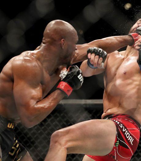 UFC-aartsvijanden Kamaru Usman en Colby Covington in de herkansing