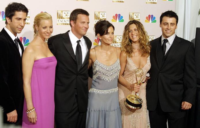 Les héros de la série Friends
