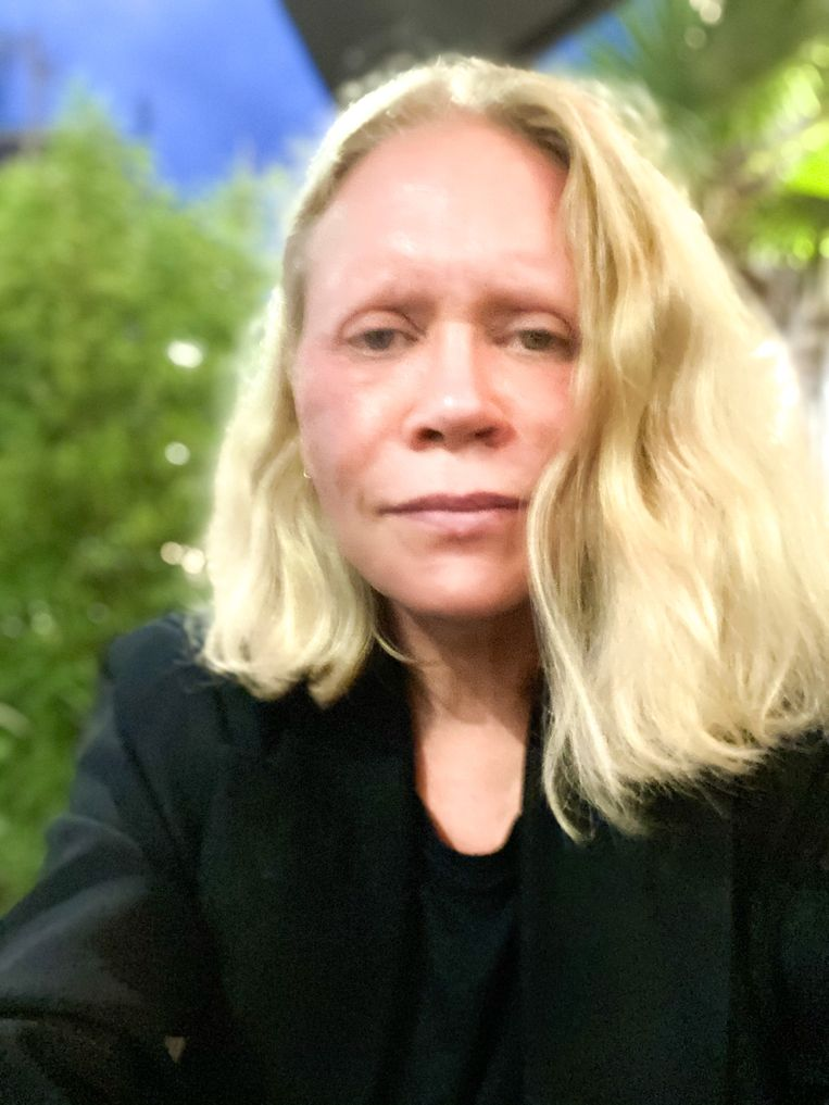 Inge Grognard.  Beeld RV