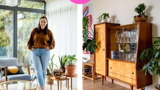 """Katrijn zette haar huis vol vintage: """"Het verhaal achter elk meubel fascineert mij"""""""