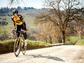 IN BEELD. Peloton verkent Toscaanse wegen: Strade-koorts stijgt in en rond Siena