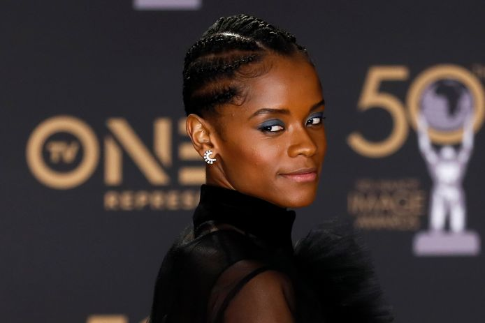 'Black Panther'-actrice Letitia Wright
