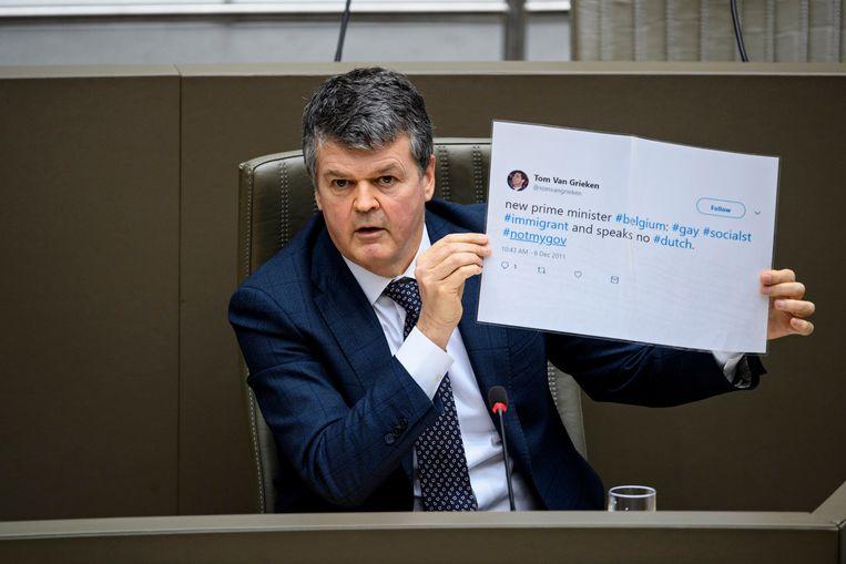 Minister van Inburgering en Gelijke kansen Bart Somers (Open Vld) Beeld Photo News