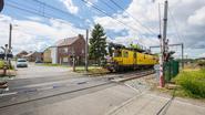Trucker legt treinverkeer hele dag stil