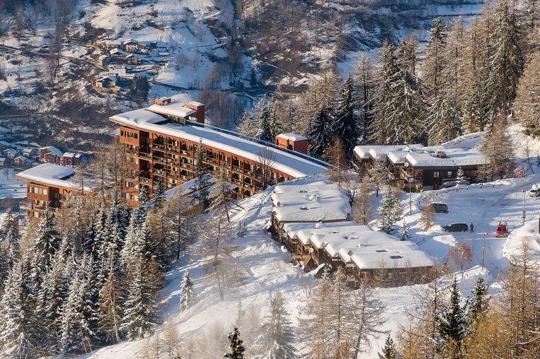 Arc 1800 (inderdaad, op 1.800 meter hoogte) is zo gebouwd dat het in harmonie is met de bergen. Beeld