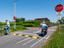 Drempels voor gevaarlijke oversteek RijnWaalpad; 'Bijdrage aan veiligheid fietsers'