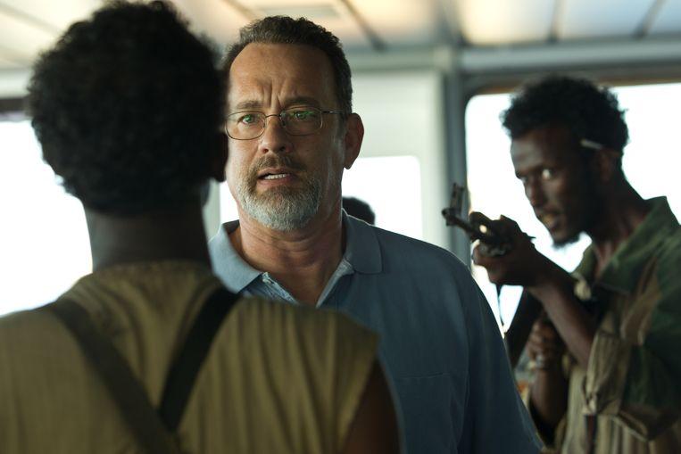 Tom Hanks in 'Captain Phillips'. Beeld Hopper Stone, SMPSP